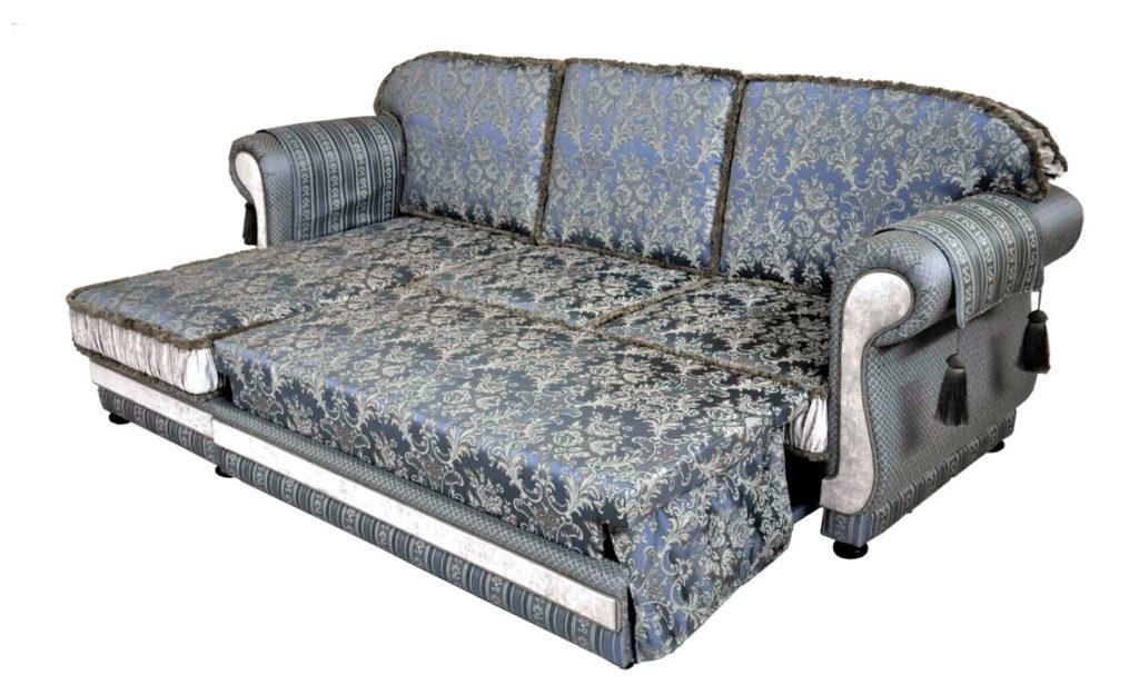 прямой диван наири в разложенном виде