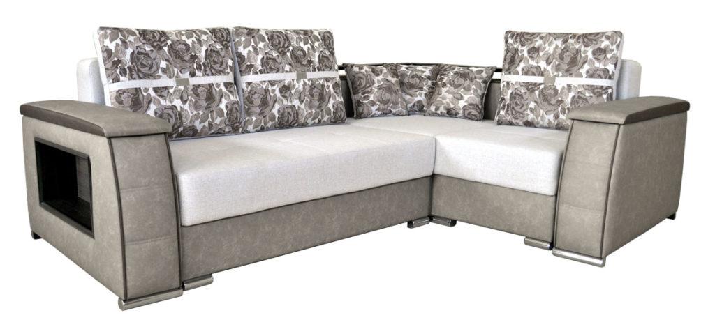 диван-кровать с угловым креслом