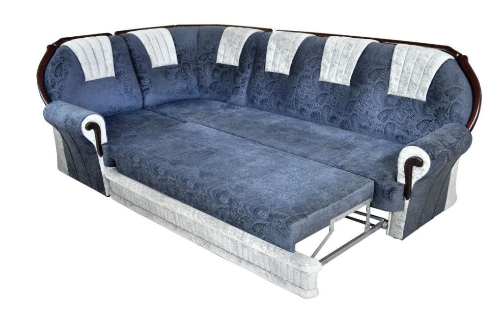 угловой открытый диван